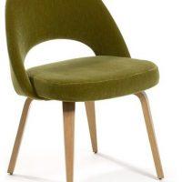 Saarinen - silla executive con patas de madera