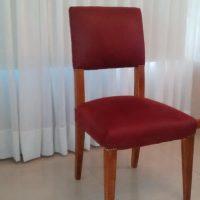 Silla tapizada asiento respaldo 3